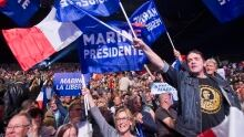 Marine Le Pen Rally