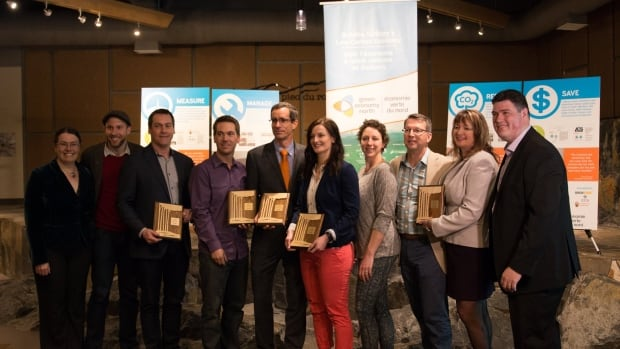 Green Economy North handed out awards to several businesses in Sudbury, Ont., on Thursday that have made an effort to become more sustainable.