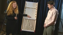 The Math Missus plays Plinko