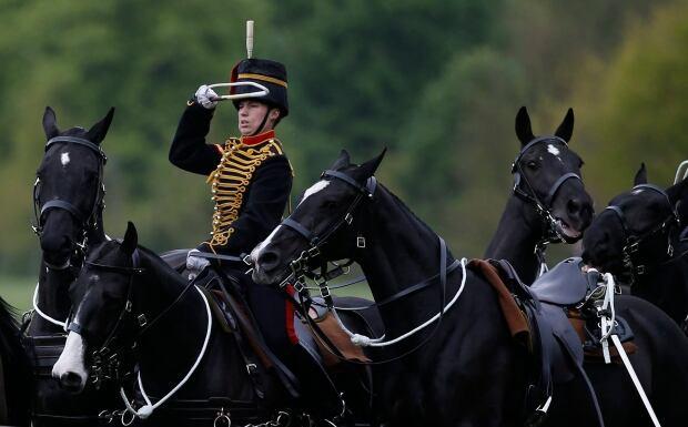 Britain Gun Salute