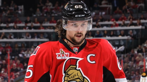 Senators defenceman Erik Karlsson was amongst the finalists named for the Norris Trophy as NHL top defenceman on Friday. He finished the regular season with 17 goals and 71 points.