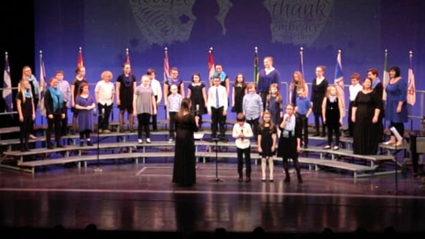 Lauda made its stage debut during the Shallaway spring concert earlier this month.