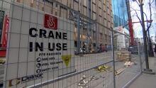 Cranes on 102
