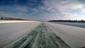 First road to the Arctic Ocean nearly complete