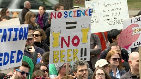 Calgary March For Science