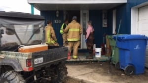 firefighters gatineau spring flooding floodwater