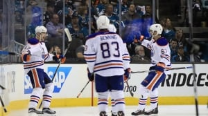 Oilers knock off Sharks, set up 2nd round date with Ducks