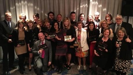 CBC BC RTDNA award winners groups shot