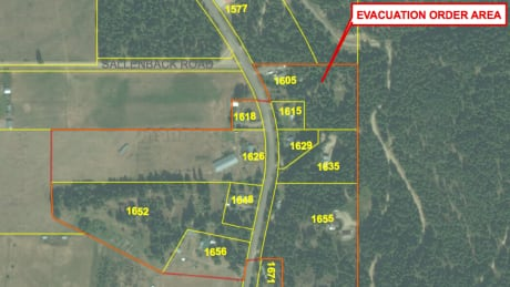 10 homes in Salmon Arm under evacuation order due to ground instability