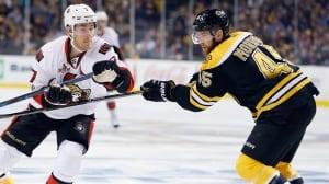 Senators advance with OT victory over Bruins