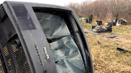 Calgary trash illegal dumping