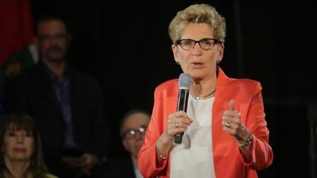 Ontario Premier Kathleen Wynne announced the basic income program on Monday in Hamilton.
