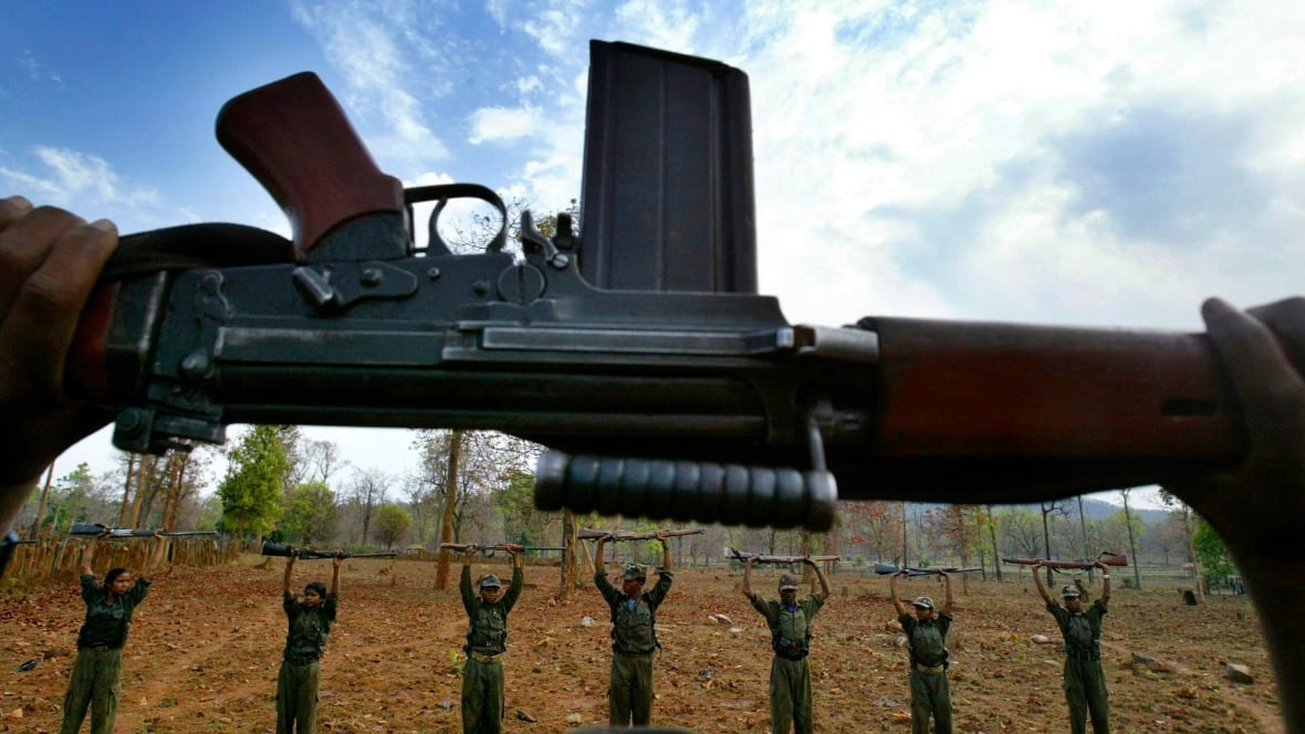 Maoist rebels kill at least 25 Indian paramilitary soldiers
