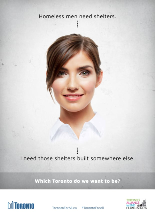 Toronto Homelessness advertisement 2