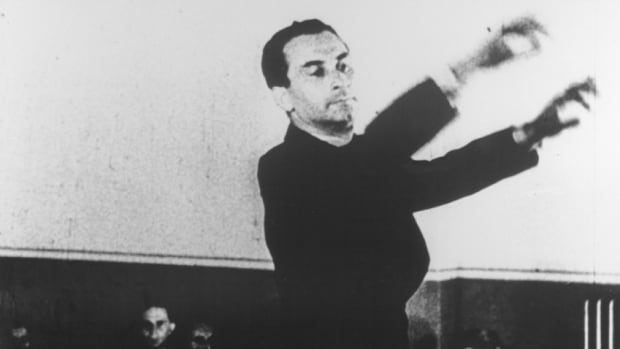 Karel Ancerl - conducts the Theresienstadt orchestra
