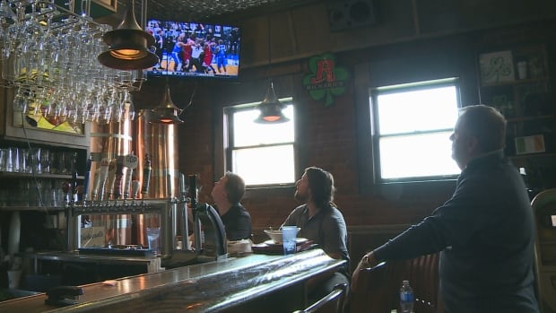 The Olde Dublin Pub in Charlottetown is one of several Island establishments debating subscriptions to new sports channel bundles offered by Bell and Rogers.