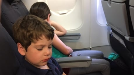 Callum, Maddy Moore Air Canada flight bumping