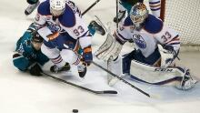 Oilers Sharks Hockey