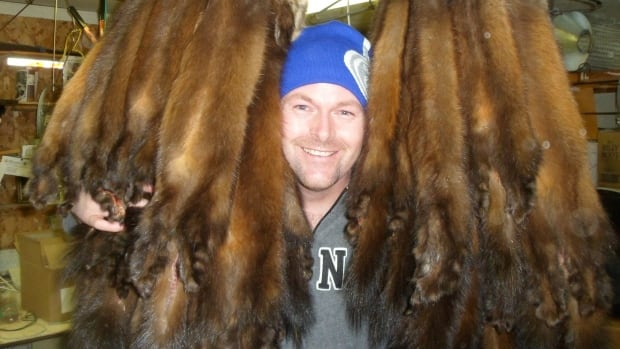 William Larkham Jr.'s pelts fetched him some good returns at a fur auction this year, with two selling for nearly $800 in a top lot.