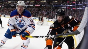 McDavid prepares to go head-to-head with Ducks agitator Kesler