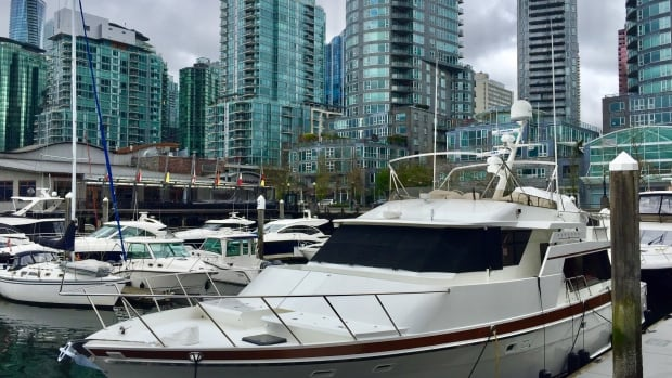 Coal Harbour is home to some of Vancouver's priciest condo developments.