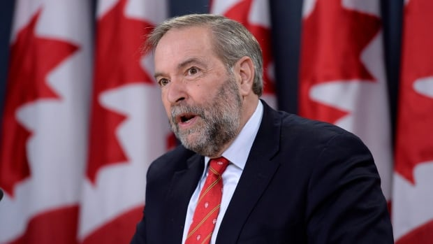 "NDP Leader Tom Mulcair says news of a record ""kill shot"" by a Canadian sniper in Iraq raises questions about the nature of the Canadian mission in Iraq."