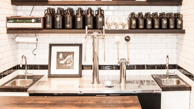 Dageraad Brewing's Burnaby tasting room. Beer columnist Rebecca Whyman says Dageraad carved a nice niche for themselves as specialists in Belgian-style beer.