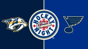 Hockey Night in Canada: Predators vs. Blues, Game 2