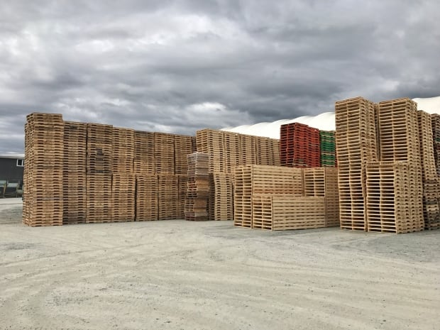 Softwood Lumber Pallets
