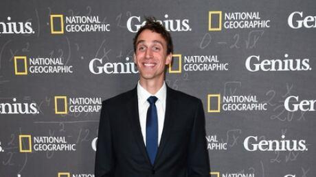 Noah Pink at Genius premiere