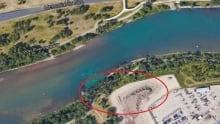 creosote contamination site