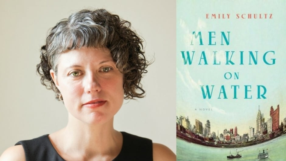 Emily Schultz's grandfather was a rum-runner in the 1920s, which inspired her novel Men Walking on Water.