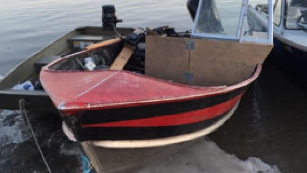 Fort Chipewyan boat