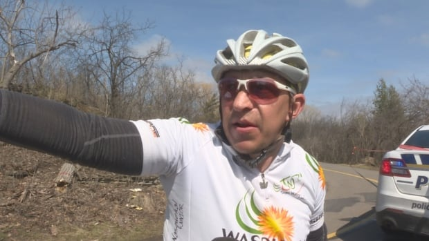 Vincent Stoop, Gatineau cyclist