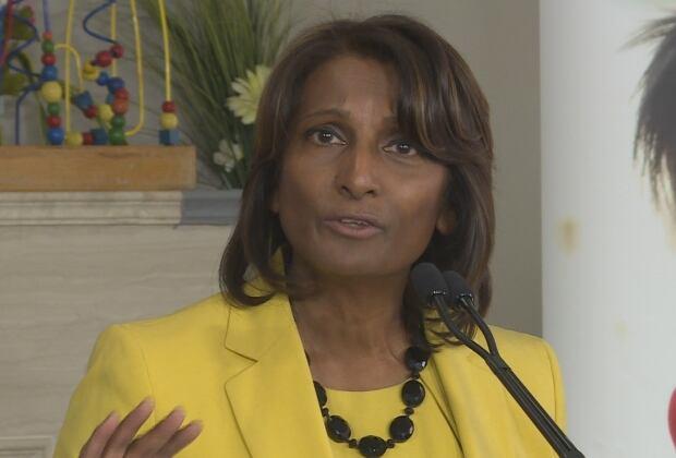 Minister Indira Naidoo-Harris