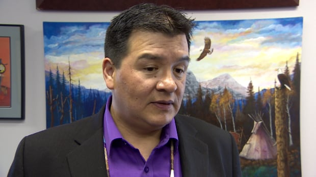 Bobby Cameron, the chief of the Federation of Sovereign Indigenous Nations.