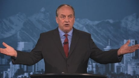 Andrew Weaver gets aggressive in prime-time introduction