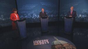 B.C. leaders get personal during election debate 2017