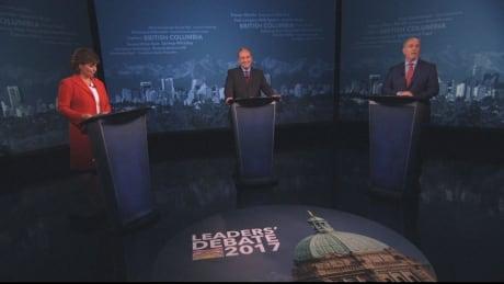 B.C. debate election