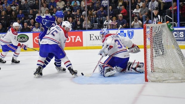 IceCaps Against the Ropes in Syracuse