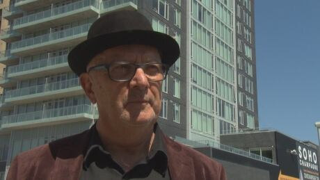 Gary Davis, resident of 100 Champagne Ave. S.