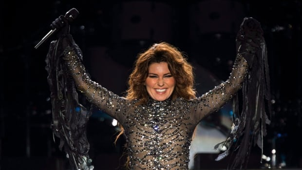 Shania Twain says she'll be back with her new album in September. She'll release a single before that in June. Here she is performing at the PEI 2014 Founders Week Concert in Charlottetown.