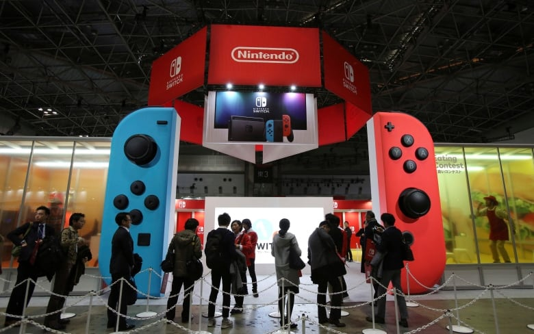 631e0ea435875 Nintendo has shipped more than 7 million Switch consoles since it launched  in March. (Koji Sasahara Associated Press)