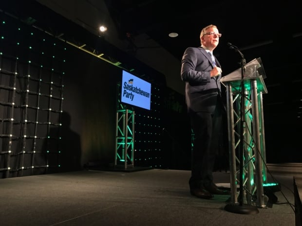 Brad Wall at Premier's Dinner April 27 2017 Saskatoon