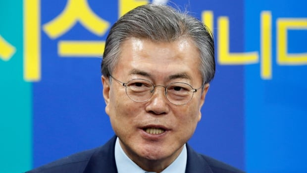 In response to Trump's remarks, a spokesperons for the leading presidential candidate, Moon Jae-in of the main opposition liberal party, repeated his earlier position that the current government should stop deploying the U.S. anti-missile defence system and defer the decision to the next president, who will be elected in 2 weeks.