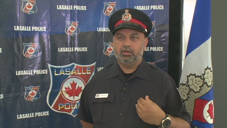 Lasalle Police Constable Harbinder Gill Maintains The