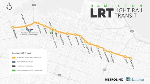 LRT map to Eastgate
