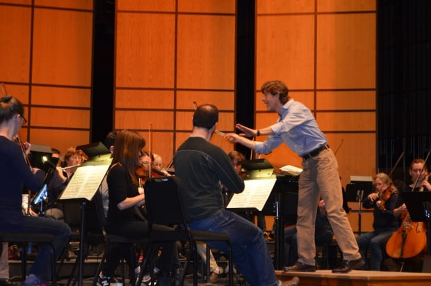 Arthur Post conducting