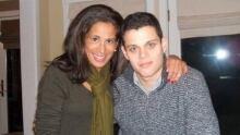 Lynn Keane with her son