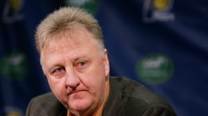 NBA legend Larry Bird steps down as Pacers president